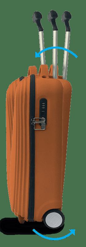 Sistema anti-ribaltamento Trolley Pop-Up di Zoom Bags